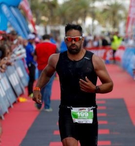 Personal Trainer Marbella Ironman 70.3 Finisher Dominic James